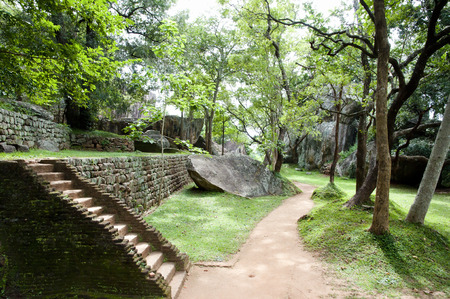 Sigiriya Boulder Garden   Sri Lanka Stock Photo   66285675