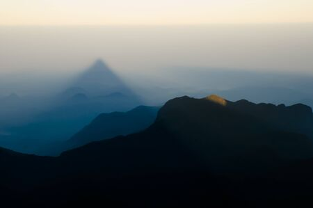 adams: Adams Peak Shadow - Sri Lanka