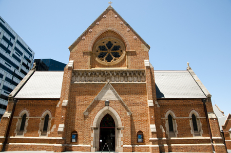 isaiah: Saint Georges Cathedral - Perth - Australia Stock Photo