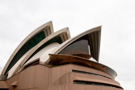 jorn: SYDNEY, AUSTRALIA - November 1, 2010: The Sydney Opera House is a multi-venue arts center designed by Danish architect Jorn Utzon