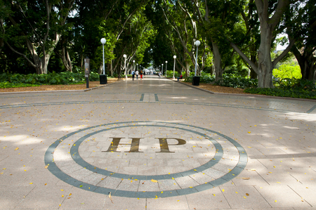 hyde: Hyde Park - Sydney - Australia Stock Photo