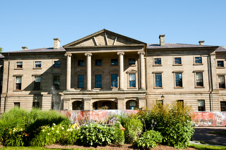 legislature: Province House - Charlottetown - Canada