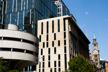 pl: City Buildings on Martin Pl - Sydney - Australia