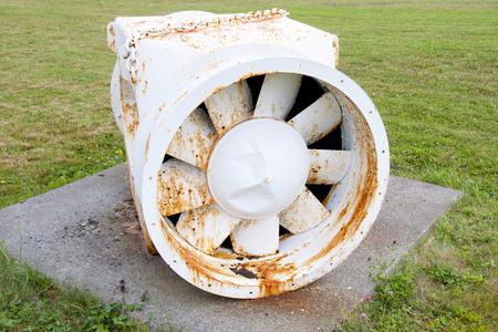 exhaust fan: Old Underground Mining Exhaust Fan