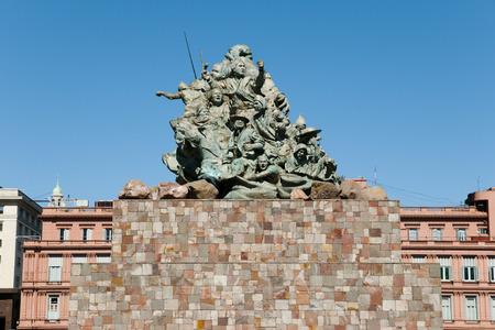 padilla: Juana Azurduy Monument - Buenos Aires - Argentina