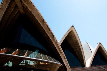 sydney opera house: SYDNEY, AUSTRALIA - December 12, 2016: The Sydney Opera House is a multi-venue arts center designed by Danish architect Jorn Utzon