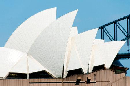 sydney opera house: SYDNEY, AUSTRALIA - December 12, 2016: The Swedish tiles of the Sydney Opera House arranged in a chevron pattern