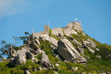 moors: Castle of the Moors - Sintra - Portugal
