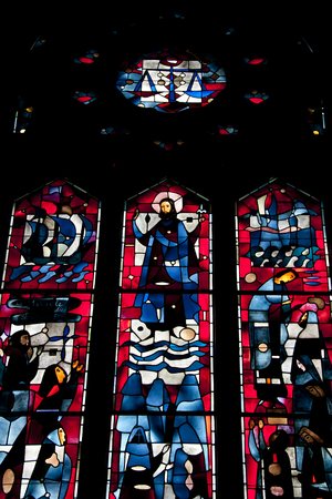 oratoria: Stained Glass inside the St Joseph Oratory