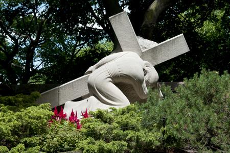 oratoria: Estaciones de la Cruz (Jesús toma su cruz) - Oratorio de San José - Montreal