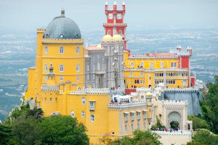 pena: Pena Palace - Sintra - Portugal
