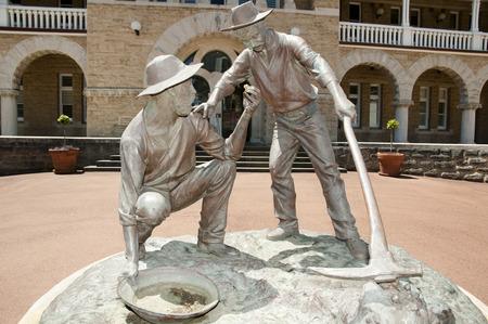 the miners: Gold Miners Statue - Perth - Australia