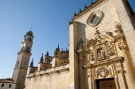 jerez de la frontera: Cathedral of San Salvador - Jerez de la Frontera - Spain Stock Photo