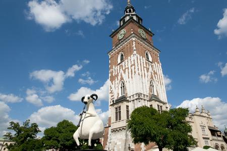 rynek: Town Hall Tower - Krakow - Poland