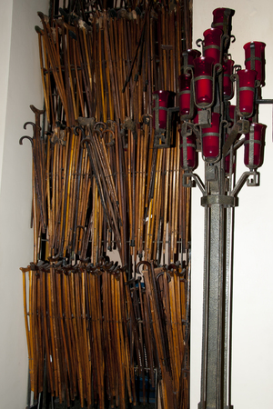 oratoria: Crutches in St Joseph Oratory - Montreal - Canada