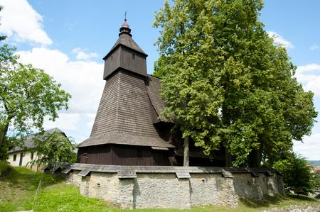 Church of St Francis of Assisi - Hervartov - Slovakia Stock Photo