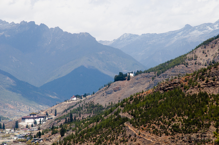 Paro Valley near Airport - Bhutan