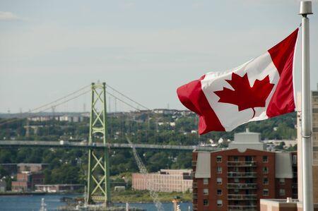 macdonald: Canadian Flag - Halifax - Nova Scotia