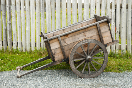Old Farming Chariot