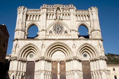 cuenca: Cuenca Cathedral - Spain Stock Photo