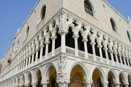 Ducale Palace in San Marco Square - Venice - Italy Editorial