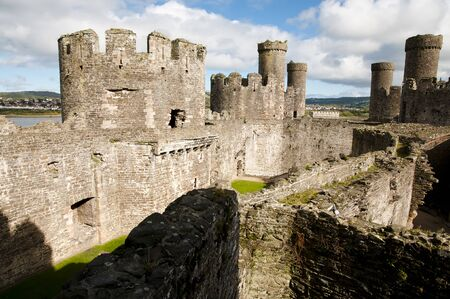 secluded: Conwy Castle - Wales - UK