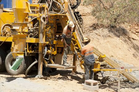 rc: Exploration RC Drilling Stock Photo