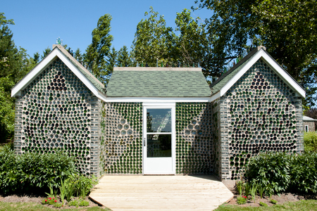 Glass Bottle House - Prince Edward Island - Canada