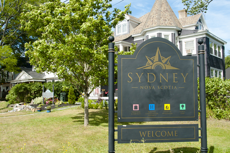 Sydney Sign - Nova Scotia - Canada