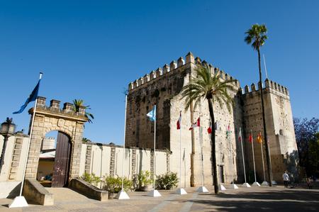 Alcazar of Jerez de la Frontera - Spain Stock Photo