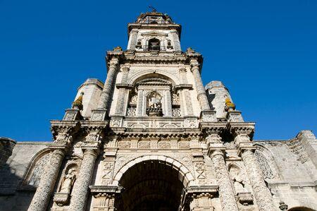 Cathedral of San Salvador - Jerez de la Frontera - Spain Stock Photo