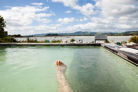 Geothermal Spa - New Zealand