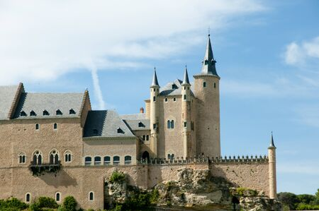 alcazar: Alcazar of Segovia - Spain Stock Photo
