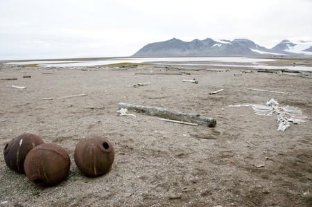 spitsbergen: Spitsbergen - Svalbard Stock Photo