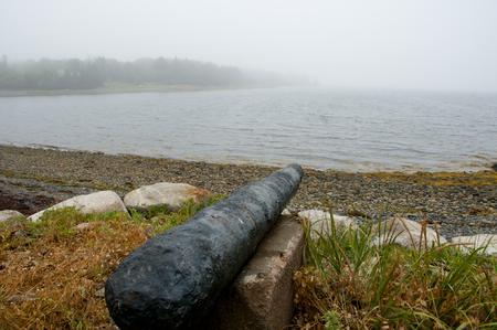Oak Island Cannon - Nova Scotia - Canada