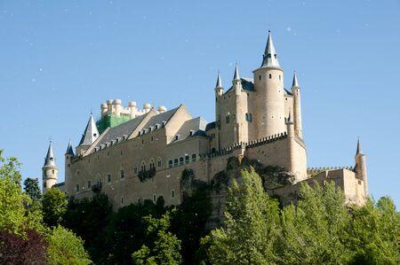 Alcazar of Segovia - Spain Stock Photo