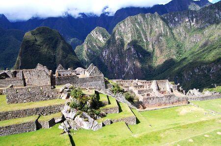 archaeological sites: Machu Picchu - Peru