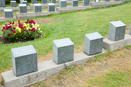 scotia: Titanic Graves - Halifax - Nova Scotia Editorial