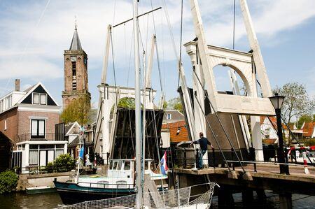 Verticale Liftbrug - Edam - Nederland