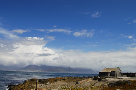robben island: Shore of Robben Island - Cape Town - South Africa