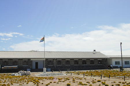 Maximum Security Prison on Robben Island - Cape Town - South Africa Editorial