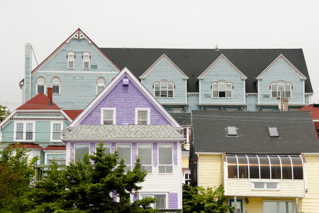 Colorful Buildings - Lunenburg - Nova Scotia