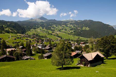 Grindelwald - Switzerland Stock Photo