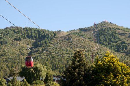 bariloche: Cable Car - Bariloche - Argentina Stock Photo