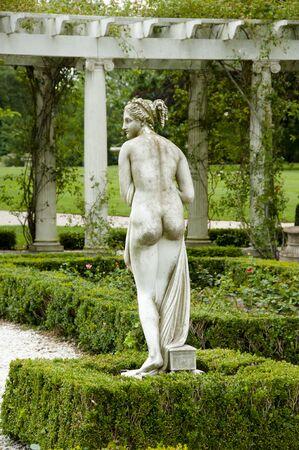 Nude Statue - Newport - Rhode Island Stock Photo