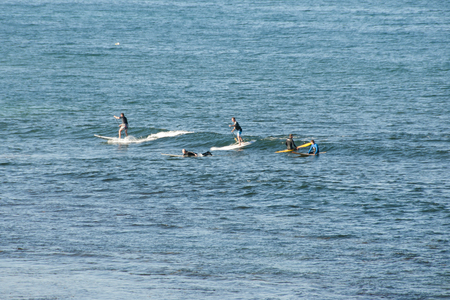 Stand Up Paddle Surfers