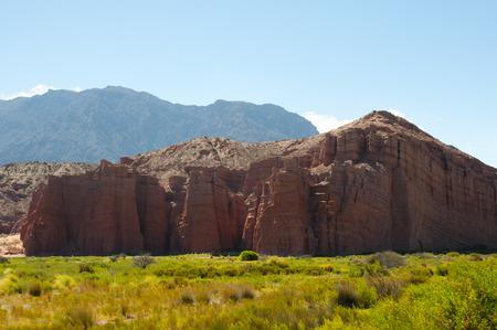 The Castle Rock Formation - Salta - Argentina Imagens
