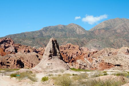 obelisco: The Obelisk - Salta - Argentina Stock Photo