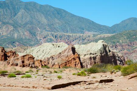 Quebrada de las Conchas Rock Formations - Salta - Argentina