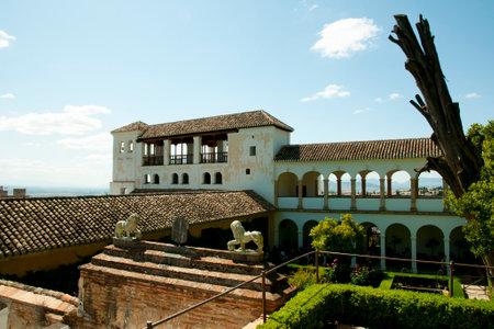 grenada: Generalife in the Alhambra - Granada - Spain